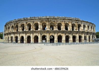Amphitheater of Nîmes in France