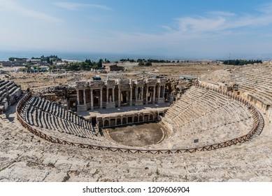 Amphitheater of Hierapolis, Pamukkale, Turkey