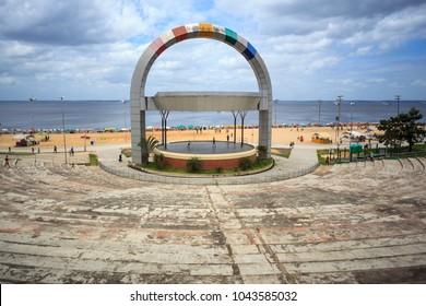 Amphitheater On beach