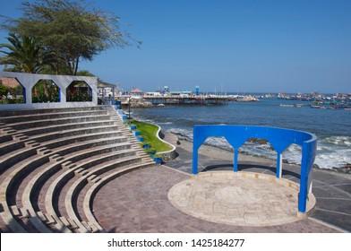 Amphitheater the port city of Ilo in Moquegua-PERU