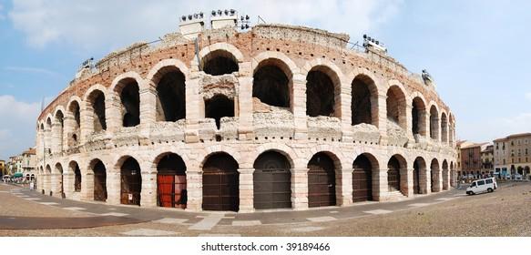 amphitheater in Verona, Italy
