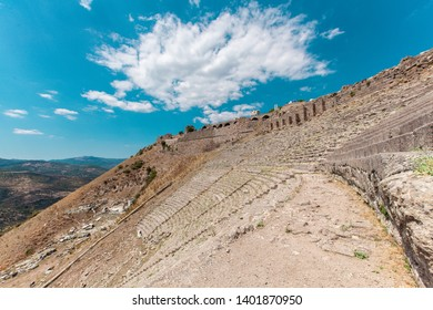 Amphitheatre of Ancient City of Pergamon in Turkey