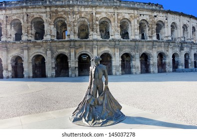 The Amphitheatre of Nimes, France
