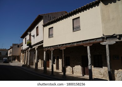 Ampudia, historical village with castle in Palencia,Spain.