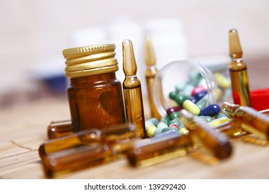 Ampules and pills for disease control