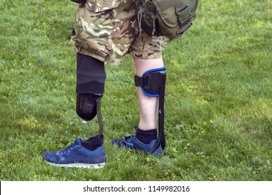 an amputated limb, the rehabilitation of military soldiers field amputation