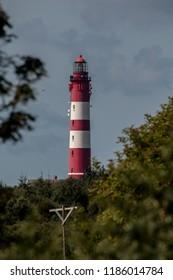 The Amrum lighthouse