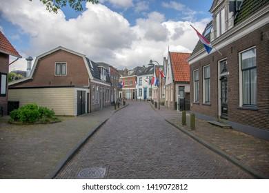 Amstelzijde Street At Amstelveen The Netherlands 2019