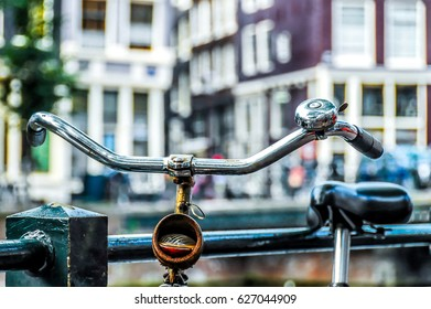 Amsterdam, bicycles, details