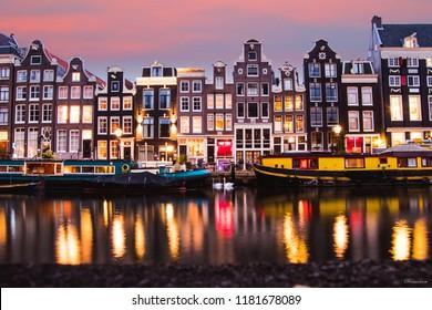 Amsterdam, Canal, Europe, Dutch