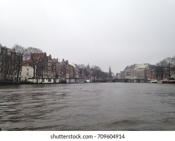 Amsterdam Canal Overcast