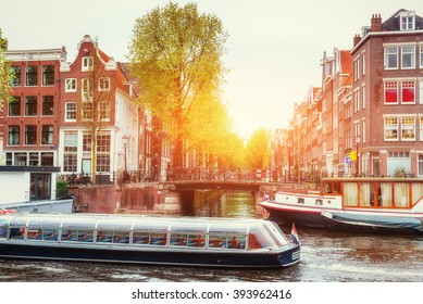 Similar Images Stock Photos Amp Vectors Of Beautiful Early Morning Sunrise Spring Urban