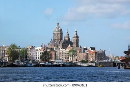 Amsterdam, capital city of Netherlands.