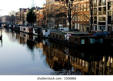 Amsterdam channel reflection