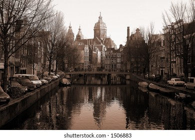Amsterdam channel (vintage)