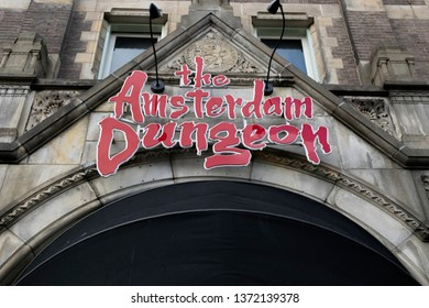 The Amsterdam Dungeon Museum At Amsterdam The Netherlands 2019