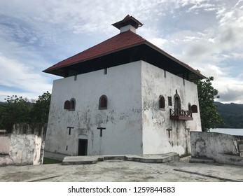 Amsterdam Fort in Ambon Indonesia