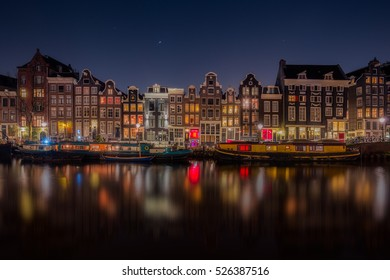 Amsterdam historic city center