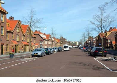 AMSTERDAM, HOLLAND — NETHERLANDS — APRIL 6, 2018: Amsterdam-Noord (North Amsterdam) is a borough of Amsterdam, Netherlands.It is situated north of the IJ river