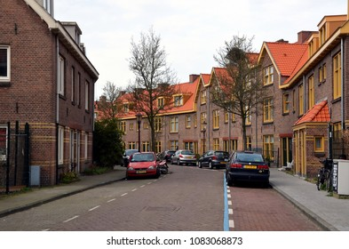 AMSTERDAM, HOLLAND — NETHERLANDS — APRIL 8, 2018: Amsterdam-Noord (North Amsterdam) is a borough of Amsterdam, Netherlands.It is situated north of the IJ, the body of water which separates it from Ams
