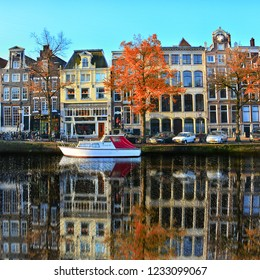 Amsterdam, Holland - September 3 2016 : Amsterdam City photo during my holiday