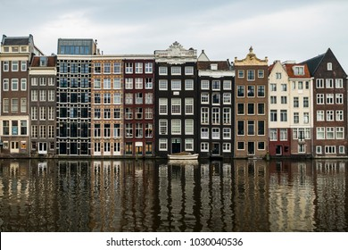 Amsterdam Houses and Cannals