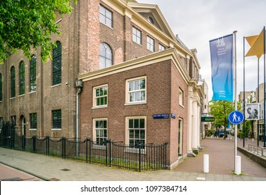 Amsterdam May 18 2018 - Jewish historic museum on the Nieuwe Amstelstraat in the old Jewish quarter of Amsterdam