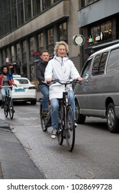 Amsterdam, Netherlands;  09/13/2017: Holland is the country with the highest number of bicycles per capita. Its form of mobility day by day is the bicycle from children to the elderly.