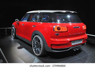 AMSTERDAM, THE NETHERLANDS, 17 APRIL 2015 - The new Mini Clubman Concept is presented during AutoRai Amsterdam.