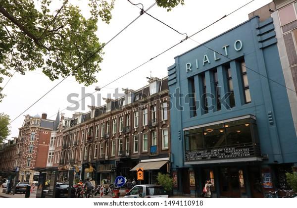 Amsterdam Netherlands About July 2019 Palaces Stock Photo