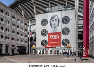 Amsterdam, The Netherlands. April 12th 2019: Johan Cruijff ArenA at Amsterdam
