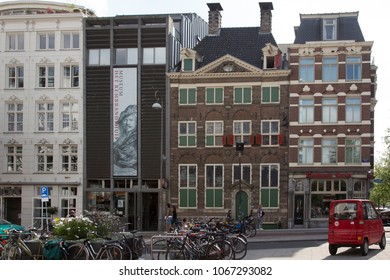 Amsterdam, Netherlands - Aug 30, 2013: Rembrandt House Museum