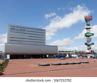 Amsterdam, Netherlands - Aug 31, 2013: RAI Congress and exhibition center