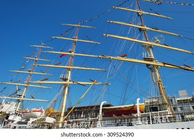 AMSTERDAM, NETHERLANDS- AUGUST 19 to 23, 2015: Ninth Edition of SAIL Amsterdam, the largest free nautical event in the world.