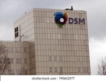 Amsterdam, Netherlands -december 26, 2017: DSM headqyuarters in the Netherland