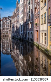 Amsterdam, Netherlands, February 2016: A quiet corner on an Amsterdam canal