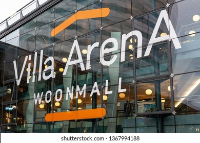 Amsterdam, The Netherlands. February 8th 2019: Villa ArenA shopping mall
