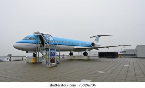 Amsterdam, Netherlands - January 25, 2014: Schiphol airport