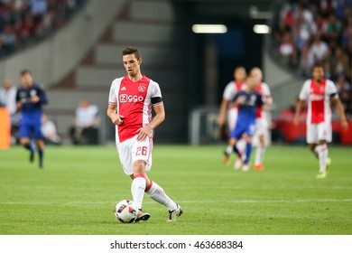 Amsterdam, Netherlands - July 26, 2016: Nick Viergever in action during the UEFA Champions League third qualifying round between Ajax vs PAOK