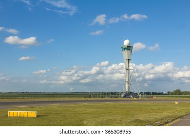 AMSTERDAM, NETHERLANDS - JULY 30, 2015: Amsterdam Airport Schiphol is the main international airport of the Netherlands, located 4.9 nautical miles southwest of Amsterdam in province of North Holland.