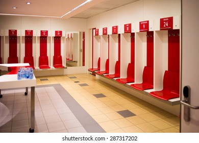 Football Dressing Room Images Stock Photos Vectors Shutterstock