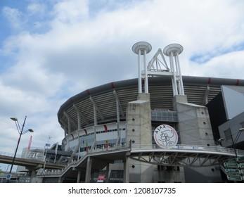 Amsterdam / Netherlands - June 2016: Amsterdam Arena Stadium, Amsterdam, Netherlands.