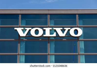 Amsterdam, Netherlands -june 26, 2018: Volvo building in Amsterdam the Netherlands