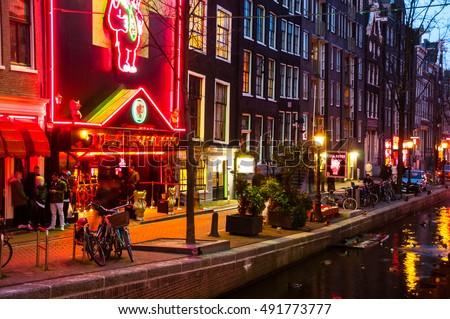 Adult nightlife in amsterdam