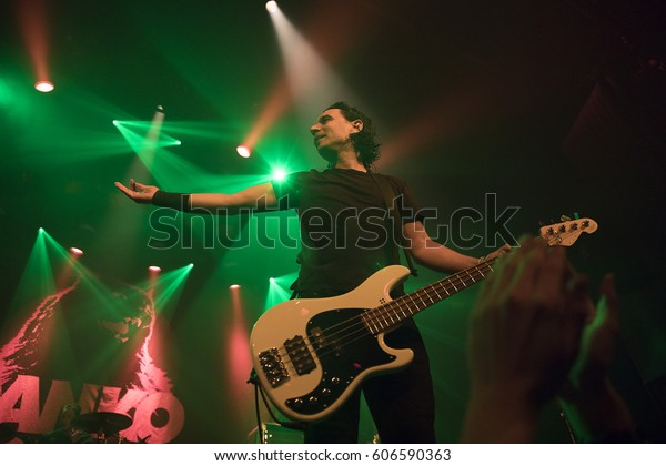 Amsterdam Netherlands March 19 2017 Concert Stock Photo
