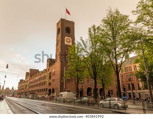 Amsterdam Netherlands May 29 2015 Beurs Stock Photo Edit