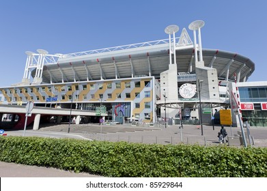 AMSTERDAM, NETHERLANDS - MAY 3: Amsterdam Arena Stadium, Amsterdam, Netherlands on May 3, 2011. Amsterdam Arena is a multifunctional stadium and home of the professional football club Ajax Amsterdam.
