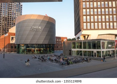 Amsterdam, Netherlands - September 02, 2018: This is Holland Discover Amsterdam in Amsterdam Noord, Netherlands