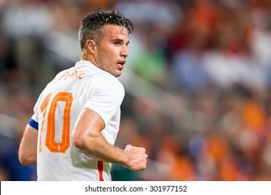 AMSTERDAM - The Netherlands - USA , Amsterdam ArenA , soccer , 05-06-2015 ,  player Robin van Persie