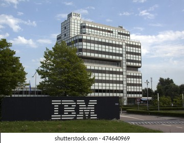 Amsterdam, Netherlands-august 26, 2016: IBM building in Amsterdam